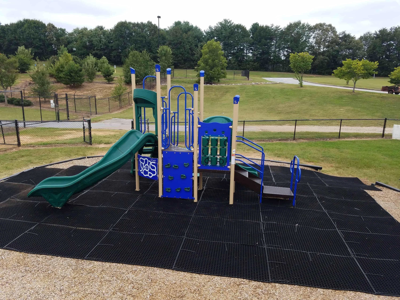 Floor Safety Usa : Playground safety grass mats by grassmats usa